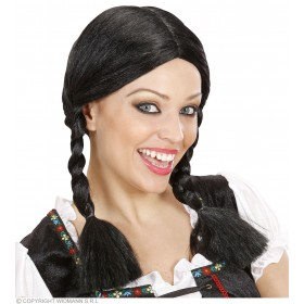 Wendy Wig - Black - Fancy Dress