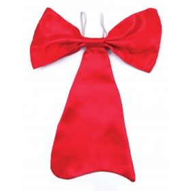 Bow Tie Large Red