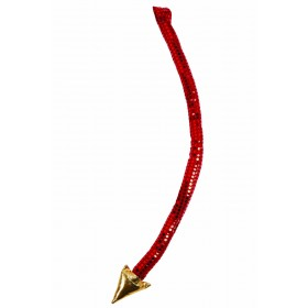 Devil Tail With Gold Tip