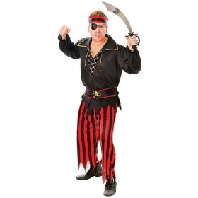 Pirate Man Fancy Dress Costume