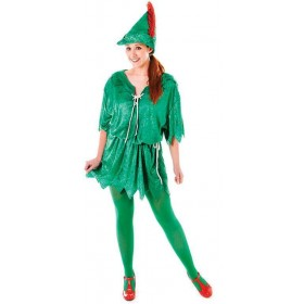 Peter Pan (Female) Fancy Dress Costume