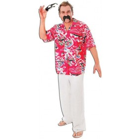 Hawaiian Floral Shirt (Hawaiian Fancy Dress)
