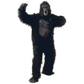 Gorilla & Rubber Chest Fancy Dress Costume