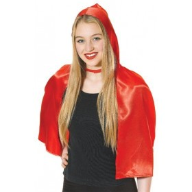 Red Riding Hood Cape (Fairy Tales , Heroes Fancy Dress)