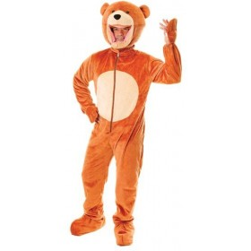 Teddy Bear. Big Head Fancy Dress Costume