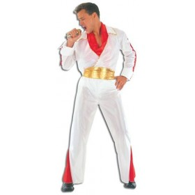 Rock Star/Elvis Adult Fancy Dress Costume