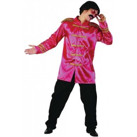 Sgt Pepper Jacket Budget. Pink Fancy Dress Costume