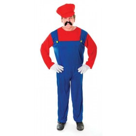 Plumbers Mate. Red Fancy Dress Costume