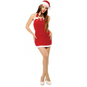 Christmas Sweetie Dress + Hat Fancy Dress Costume