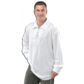 Pirate Shirt White (Pirates Fancy Dress)