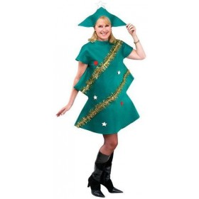 Xmas Tree Fancy Dress Costume