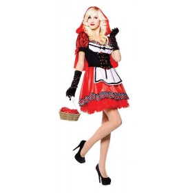 Red Hood Sweetie Fancy Dress Costume
