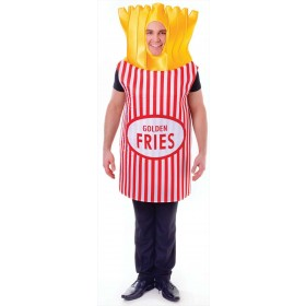 French Fries Party/Stag/Fun Run Fancy Dress Costume