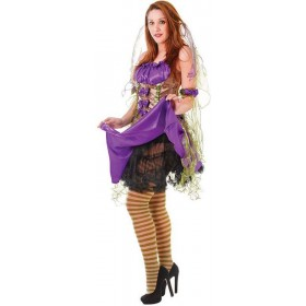 Underskirt For . Black (Halloween , Burlesque Fancy Dress)