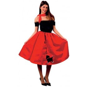 Bopper (Poodle Skirt) Fancy Dress Costume
