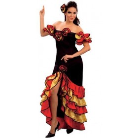 Rumba Woman Fancy Dress Costume