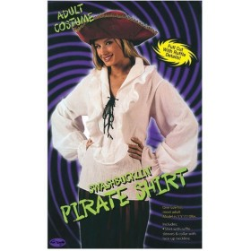 Pirate Shirt Ladies (Pirates Fancy Dress)