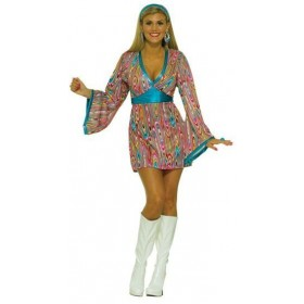 Go Go Swirl Dress Fancy Dress Costume