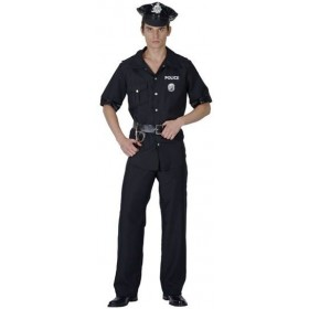 Usa Policeman Fancy Dress Costume