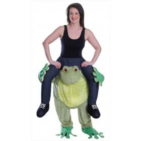 Adult Piggy Back Frog Fancy Dress Costume