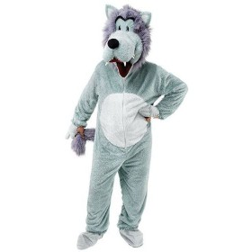 Wolf . Big Head Fancy Dress Costume