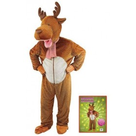 Reindeer/Moose . Big Head Fancy Dress Costume