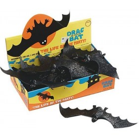 Bats. Drac The Bat (Box 3Dz) (Halloween , Animals Decorations)