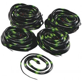 "Snakes 38"" Box of 36 (Halloween Decorations)"