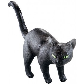 Black Cat. Rubber (Halloween Decorations)