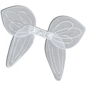 Angel Wings.Large White Net Ad (Christmas Disguises)