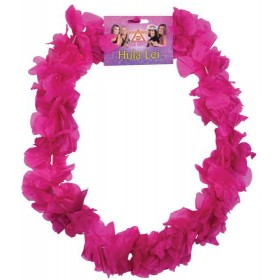 Hawaiian Leis. Pink (Hawaiian Fancy Dress)