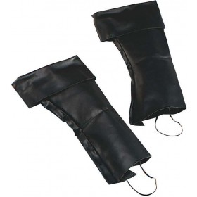 Boot Top Covers (Pirates , Medieval Fancy Dress Shoes)