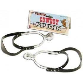 Cowboy Spurs (Cowboys/Native Americans Fancy Dress)