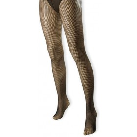 Fishnet Tights. Black (Sexy , 1920S Fancy Dress Tights)