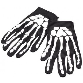 "Gloves. Skeleton 9"" (Halloween Gloves)"