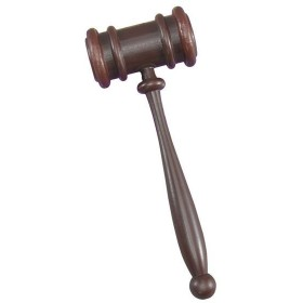 Gavel (Judge'S Hammer) (Cops/Robbers Fancy Dress)