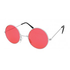 60'S Hippy Lennon Glasses. Red