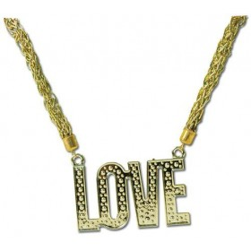 Love Necklace (1970S , 1960S Fancy Dress Jewellery)