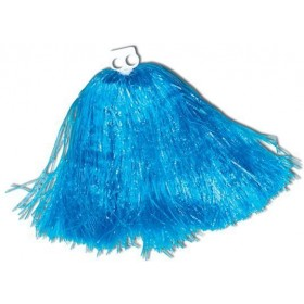 Pom Pom. Jumbo, Usa Blue (School Fancy Dress) 1 Included