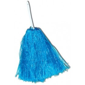 Pom Pom. Large. Blue (School Fancy Dress)