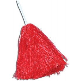 Pom Pom. Large. Red (School Fancy Dress)