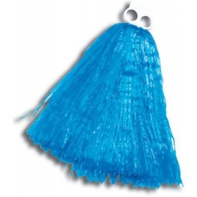 Pom Pom. Small. Blue (School Fancy Dress)