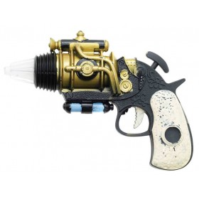 Sci-Fi Steampunk Revolver Fancy Dress Accessory