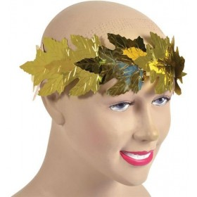 Roman Laurels. Gold Leaf (Roman Fancy Dress)