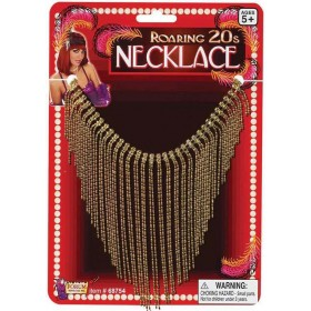 Ladies 20'S Vintage Hollywood Necklace Fancy Dress Accessory