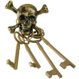 Pirate Skeleton Keys (Pirates Fancy Dress)