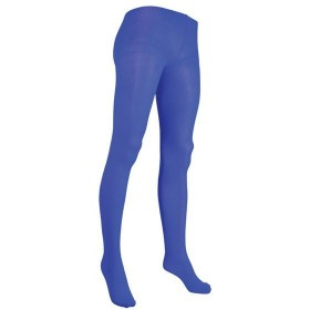 Tights. Ladies, Blue (Tv , 1980S Fancy Dress Tights)
