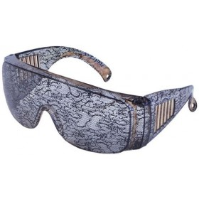 Lace Print Gaga Glasses (1980S , Music Fancy Dress Glasses)