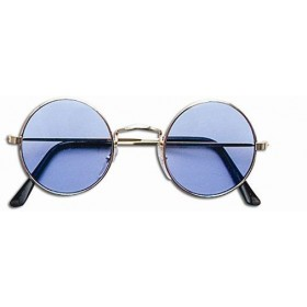 Lennon Glasses - Blue (1970S , 1960S Fancy Dress Glasses)
