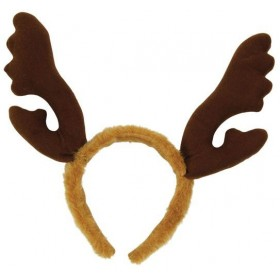 Reindeer Antlers, Brown Fur (Christmas Disguises)